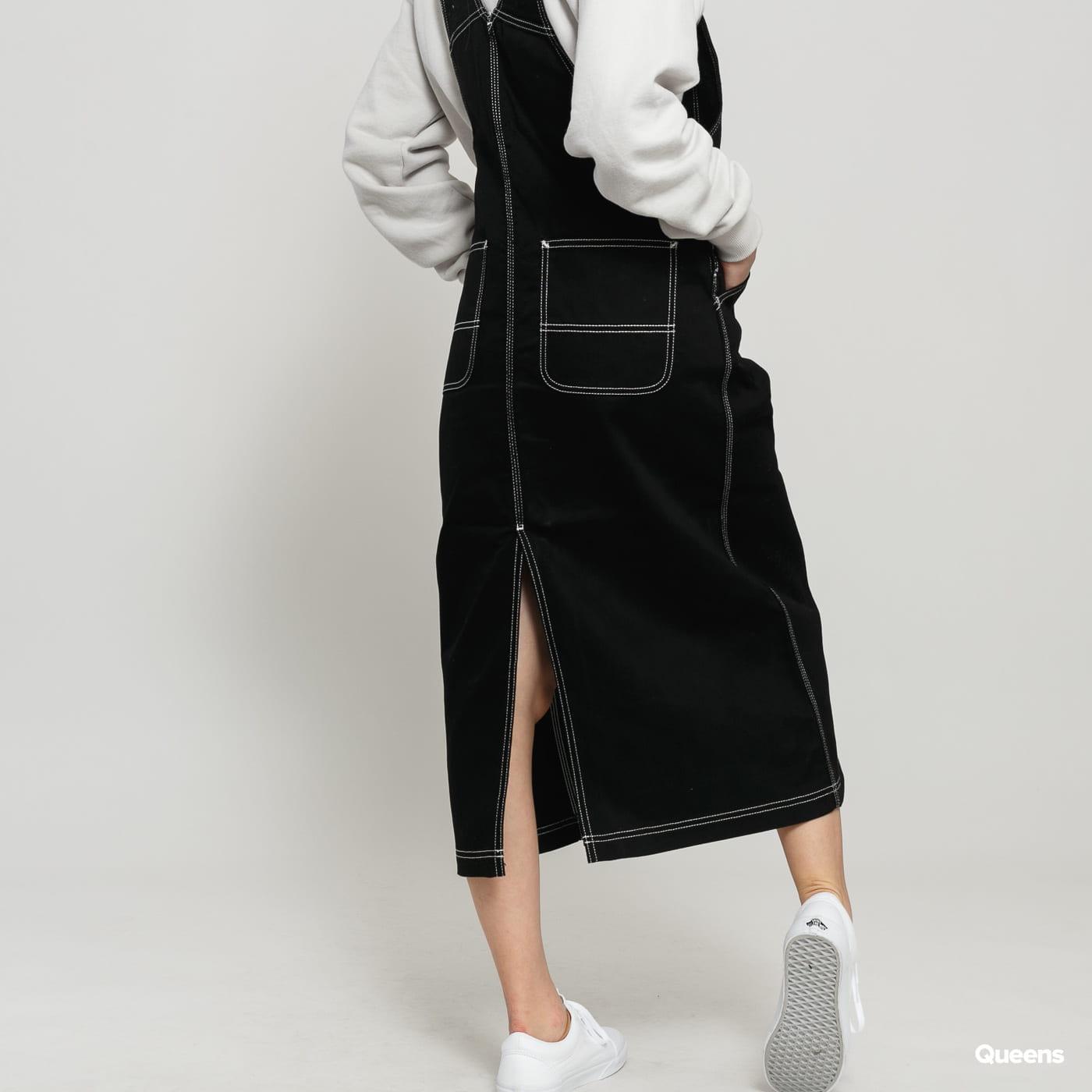 Carhartt WIP W' Bib Skirt Long black rinsed