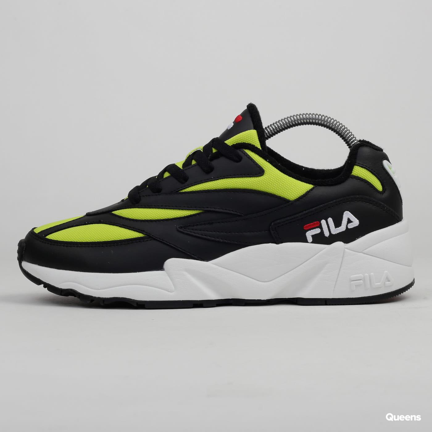 Fila V94M Low black / acid lime