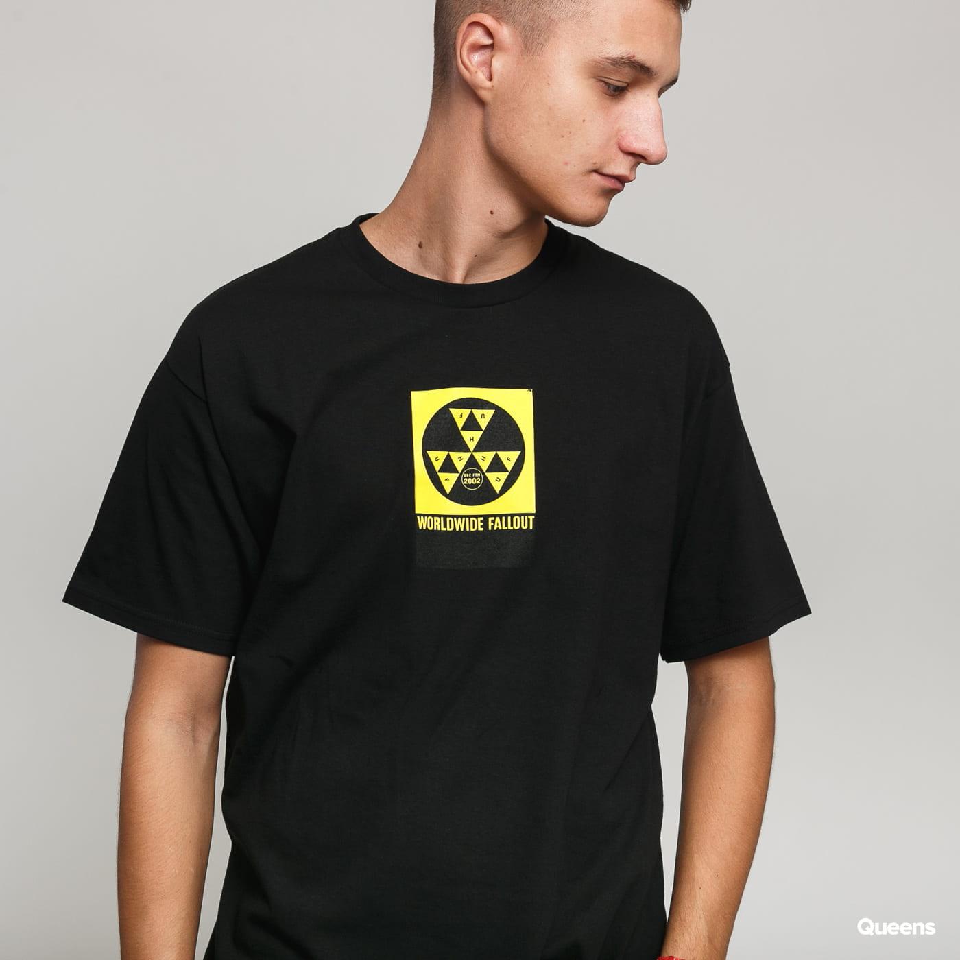 HUF Fall Out T-Shirt čierne