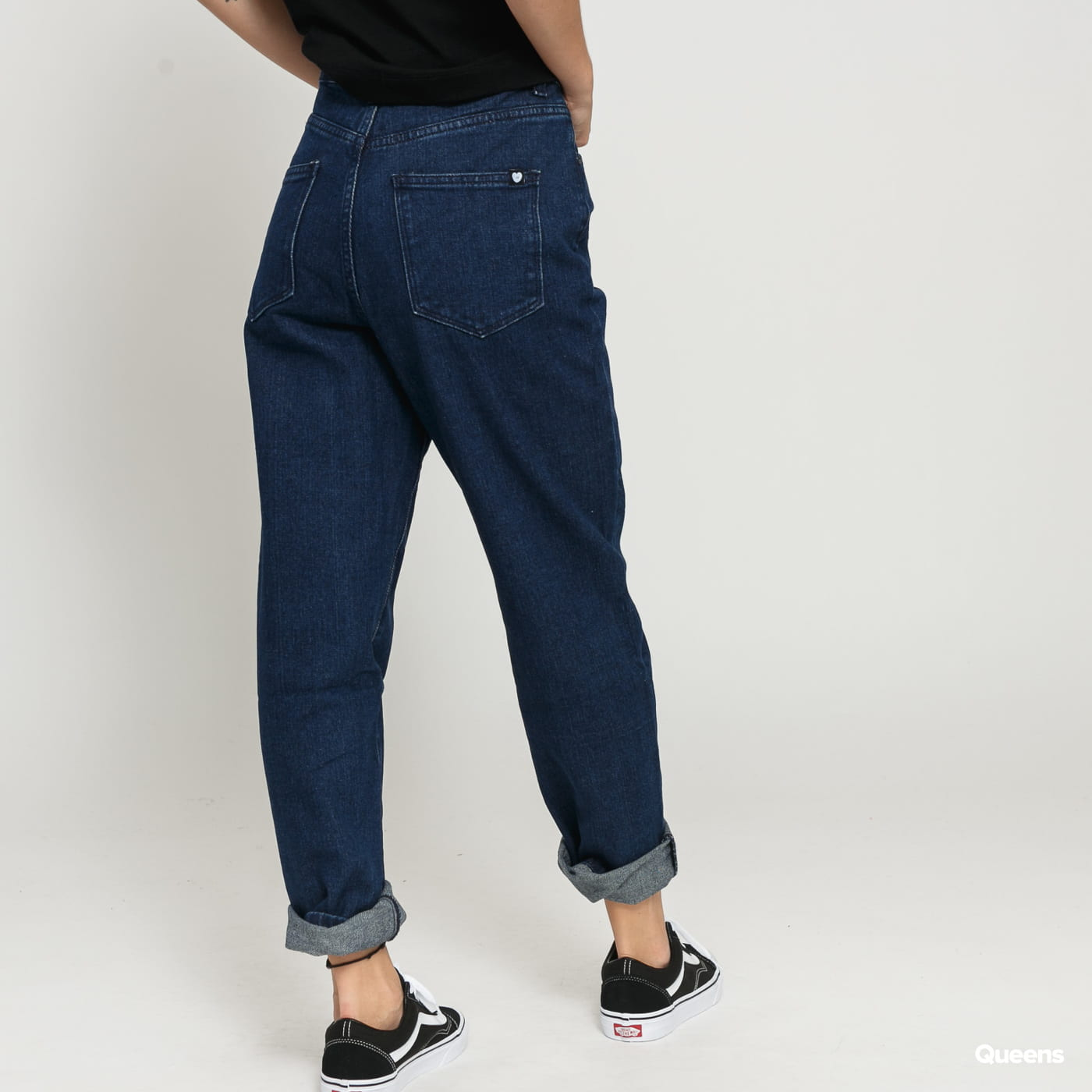 LAZY OAF LO Mom Jeans indigo