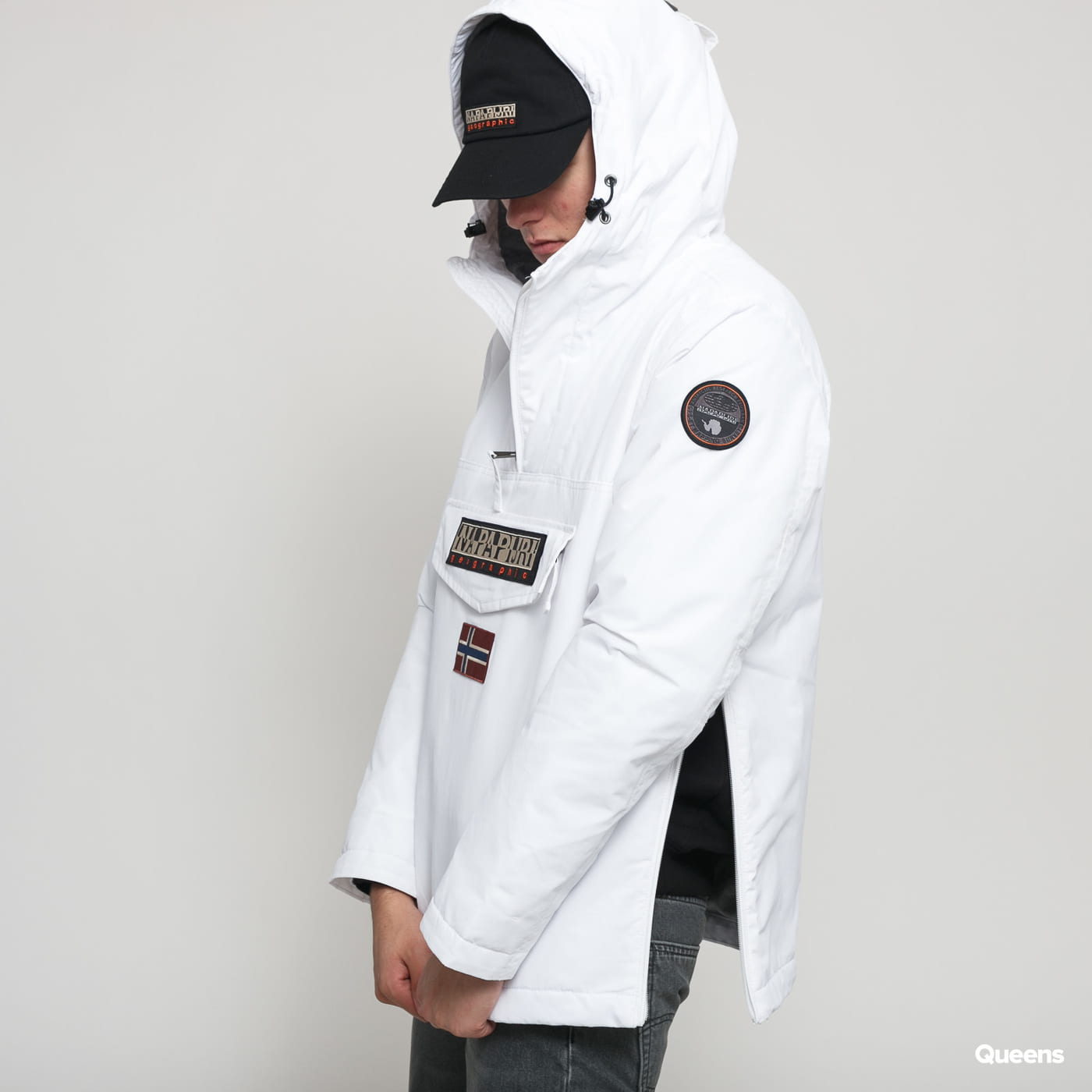 NAPAPIJRI Rainforest Pocket Jacket white