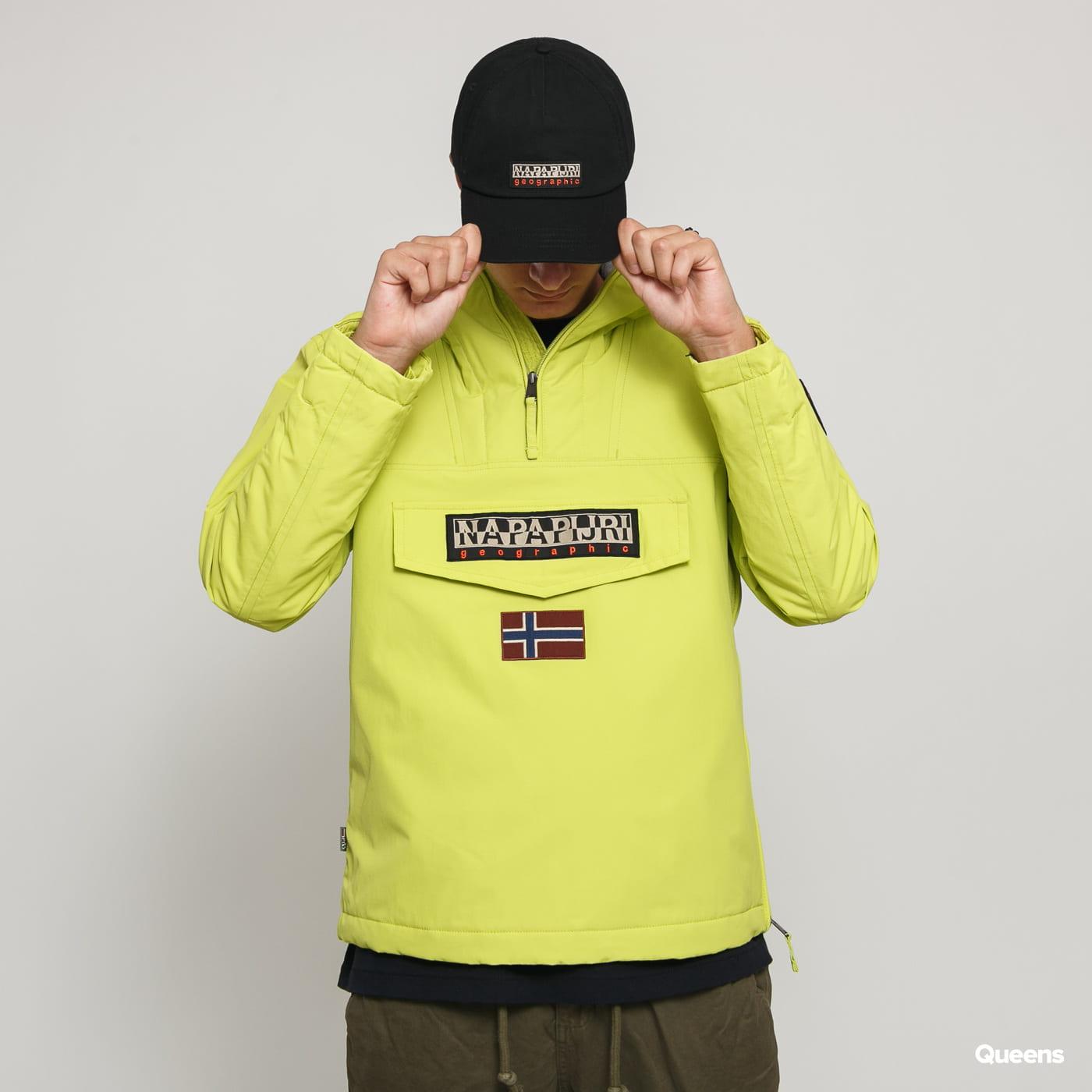NAPAPIJRI Men/'s lime yellow Rainforest Winter jacket