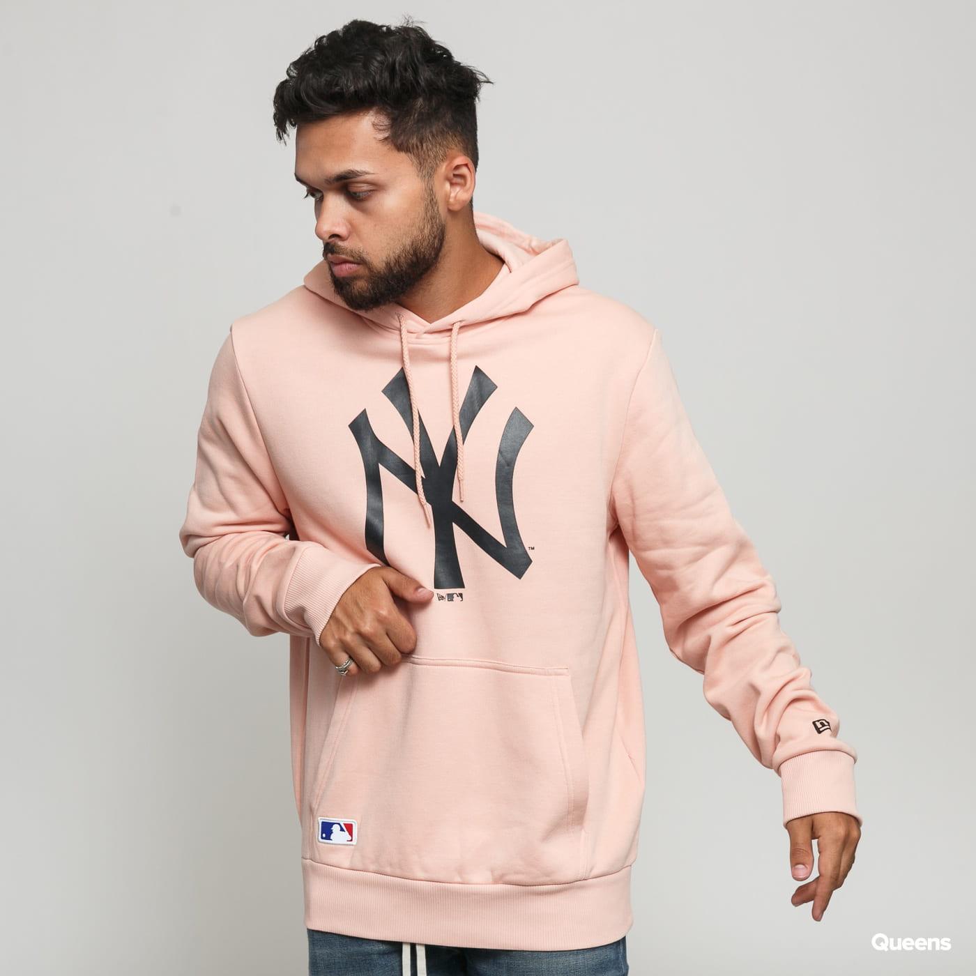 New Era MLB Seasonal Team Logo Hoody NY růžová