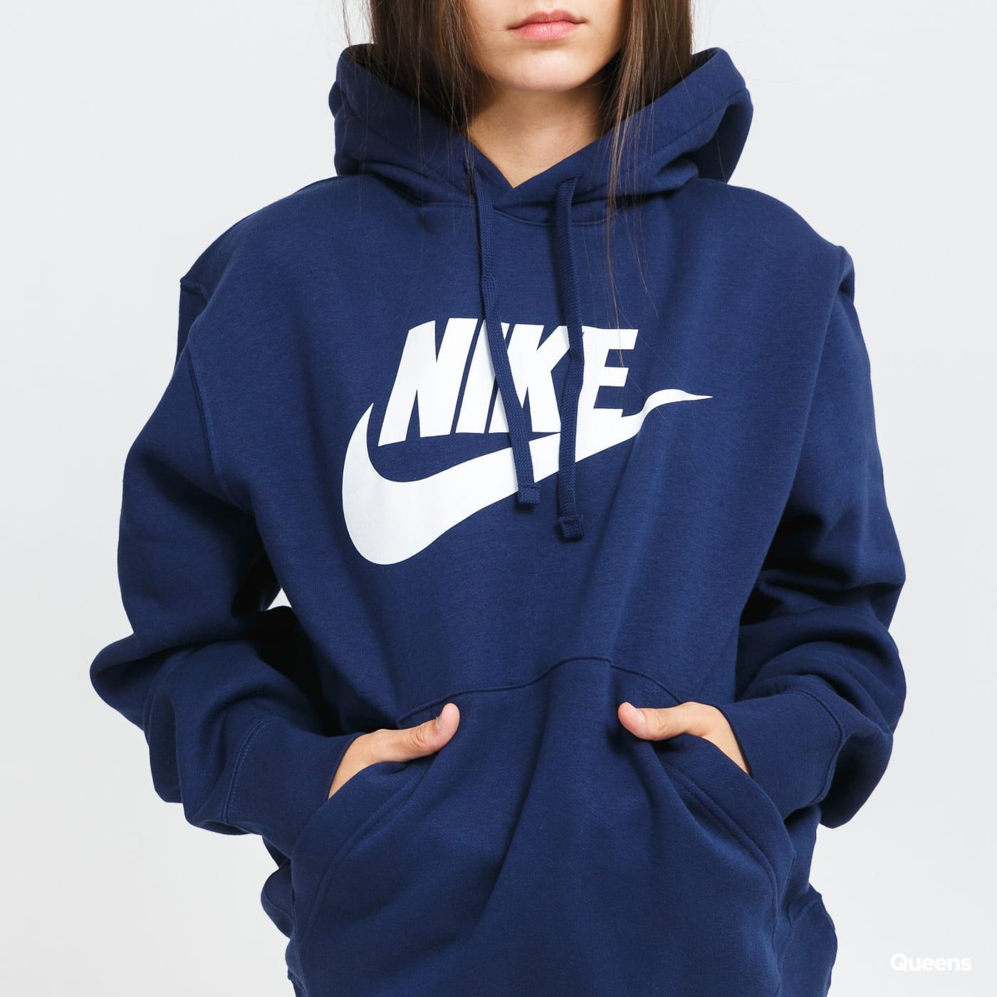 Nike M NSW Club Hoodie PO BB nava