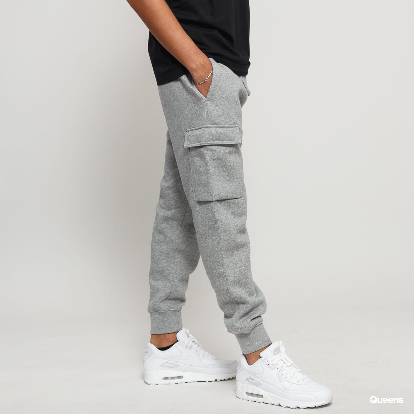 Nike M NSW Club Pant Cargo melange šedé