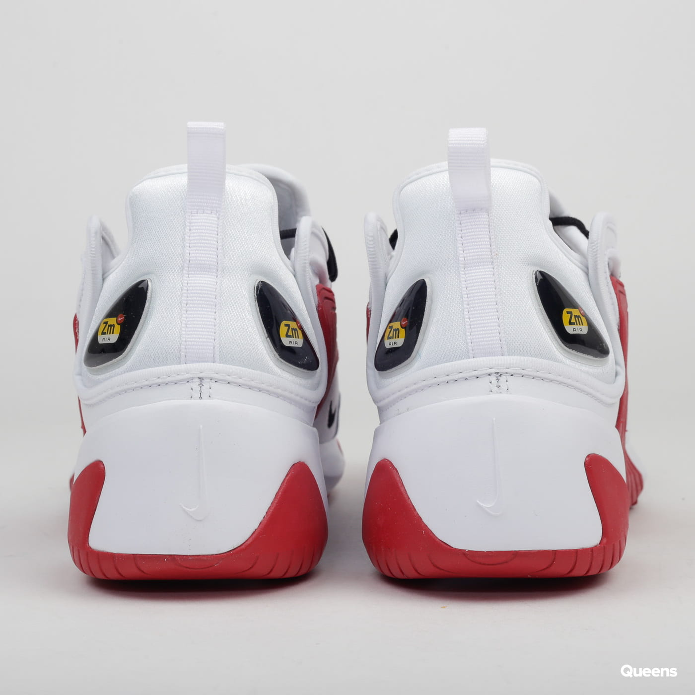 Nike Zoom 2K white / black - gym red - white