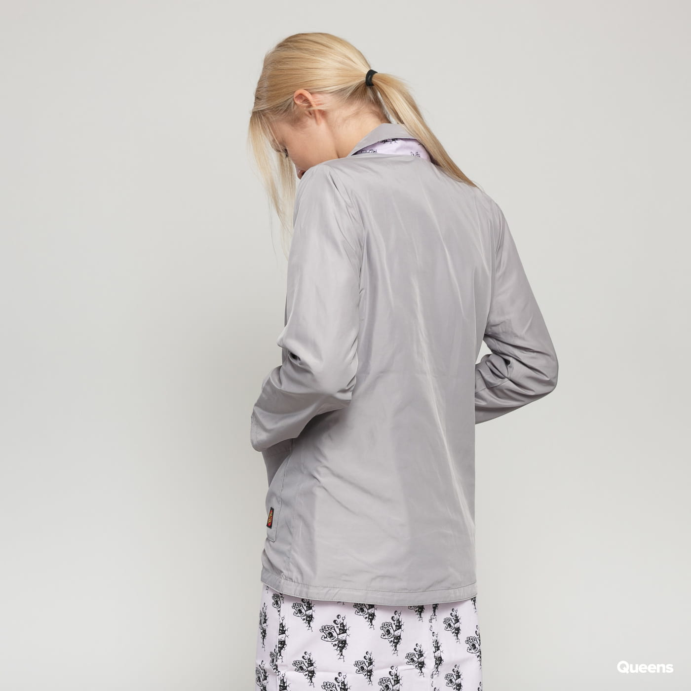 Santa Cruz Wall Hand Reversible Jacket gray / pink / black