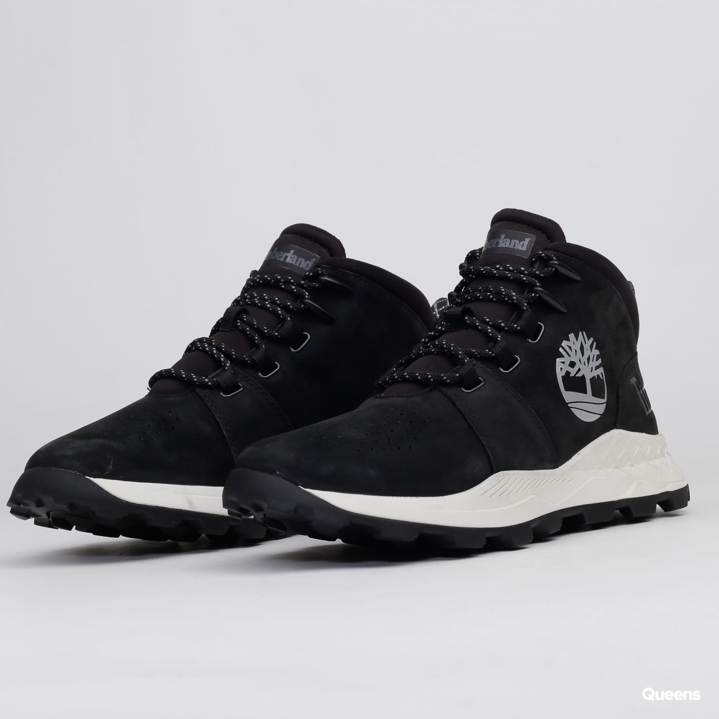 Timberland Brooklyn Mid Lace Up black nubuck