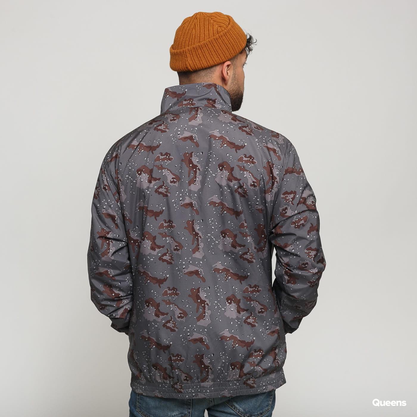 Urban Classics Camo Track Jacket camo gray