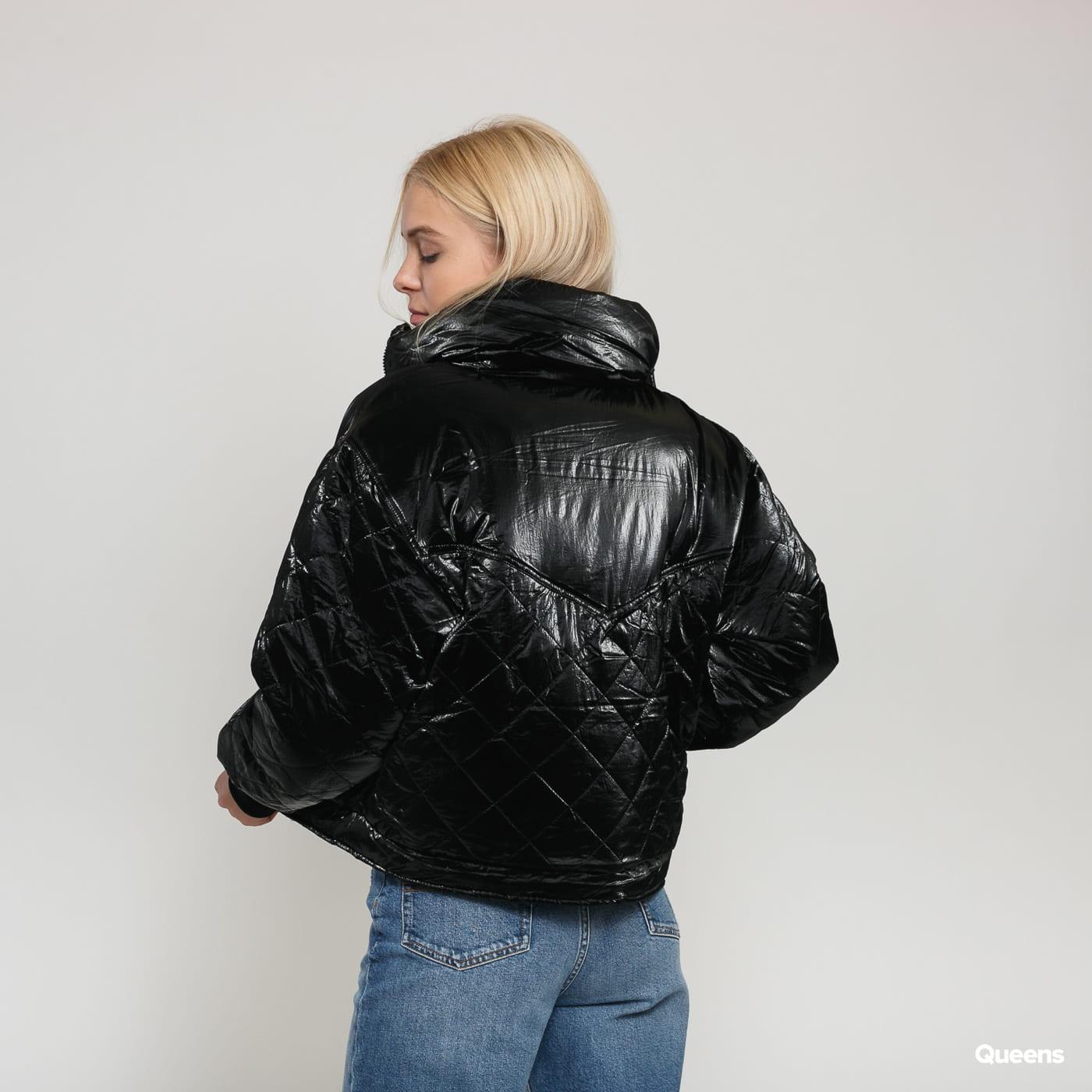 Urban Classics Ladies CVanish Oversized Diamond Quilt Jacket čierna