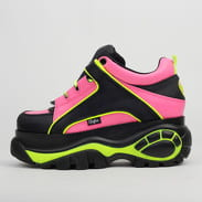 Buffalo Classic Chunky Sneaker Leather black / fuchsia