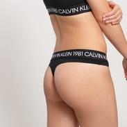 Calvin Klein Bralette Set černé
