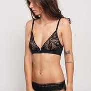Calvin Klein Unlined Plunge černé