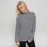 Carhartt WIP W' LS Haldon T-Shirt bílé / černé