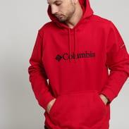 Columbia CSC Basic Logo II Hoodie červená