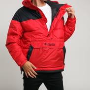 Columbia Lodge Pullover Jacket červená / černá