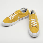 Converse One Star OX gold dart / white / black