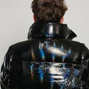 Daily Paper Gubl Holographic Puffer Coat černá