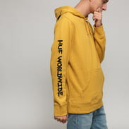 HUF Riot Hoodie tmavě žlutá