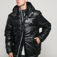 Jordan M J Jumpman Puffer Jacket černá