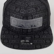 Jordan PSG Jordan Pro Cap Snapback černá / tmavě šedá