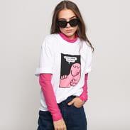 LAZY OAF LO Sheer Turtleneck růžové