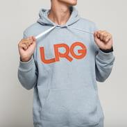 LRG Lifted Hoody melange světle modrá