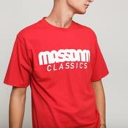 Mass DNM Classics Tee červené