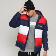 Mass DNM Slapshot Jacket navy / červená / bílá