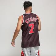 Mitchell & Ness NBA Swingman Jersey Chicago Bulls schwarz