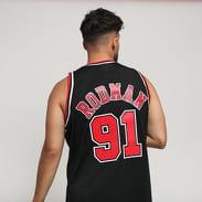 Mitchell & Ness NBA Swingman Jersey Chicago Bulls - Dennis Rodman #91 black
