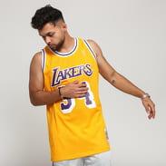 Mitchell & Ness NBA Swingman Jersey LA Lakers - Shaquille O'neal #34 žltý