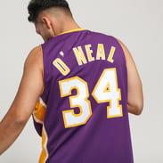 Mitchell & Ness NBA Swingman Jersey LA Lakers Shaquille O'Neal #34 fialový