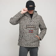 NAPAPIJRI Rainforest PKT Print Jacket béžová / černá / hnědá