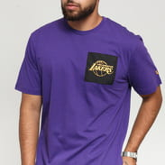 New Era NBA Square Logo LA Lakers fialové