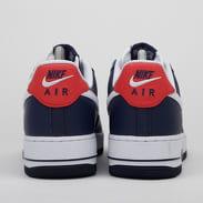 Nike Air Force 1 '07 LV8 4 obsidian / white - university red