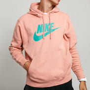 Nike M NSW Club Hoodie PO BB růžová