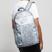 Nike NK Elemental Backpack - 2.0 šedý / světle modrý / bílý