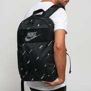 Nike NK Elemental Backpack - 2.0 AOP černý / bílý