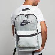 Nike NK Heritage Backpack - 2.0 melange šedý / bílý / černý