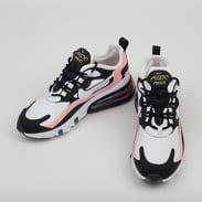 Nike W Air Max 270 React black / white - bleached coral