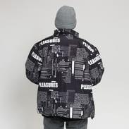 PLEASURES Poems Puffer Jacket černá / bílá