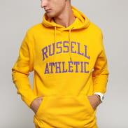 RUSSELL ATHLETIC Pull Over Hoody žlutá