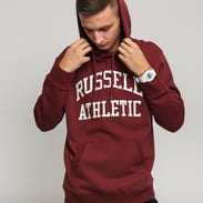 RUSSELL ATHLETIC Pull Over Hoody vínová
