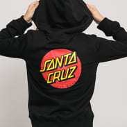Santa Cruz W Classic Dot Hood čierna