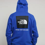 The North Face M Raglan Red Box Hoody modrá