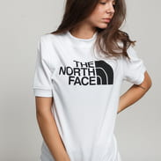 The North Face W Graphic SS bílé