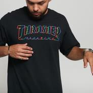 Thrasher Spectrum Tee černé