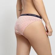 Tommy Hilfiger 3 Pack Bikini - Slip Dot Print light pink / dark pink / bordeaux