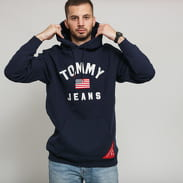 TOMMY JEANS M Americana Hoodie navy
